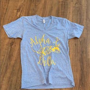 Tops - Alpha XI Delta sorority T-shirt